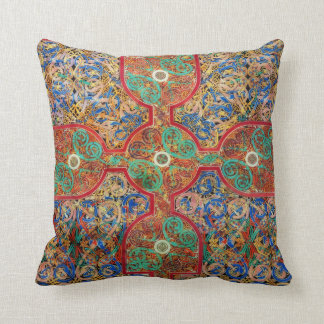 Catholic Lindisfarne Gospels Illumination Cushion