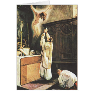 Catholic Mass Offering Card
