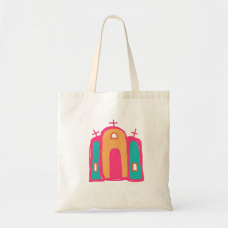 catholic mission art/mission tote/santa fe tote bag