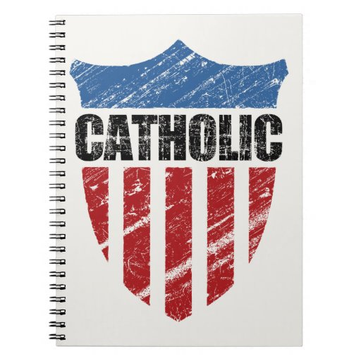 Catholic Spiral Note Books
