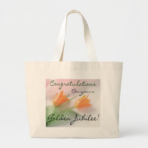 """Catholic Nun """"Golden Jubilee"""" Cards & Gifts Tote Bags"""
