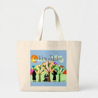 Catholic Nun Golden Jubilee Gifts Jumbo Tote Bag