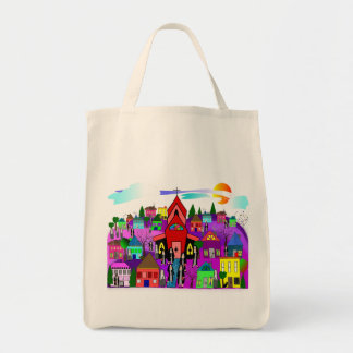 "Catholic Nuns Art ""Heading to Church"" Bags"