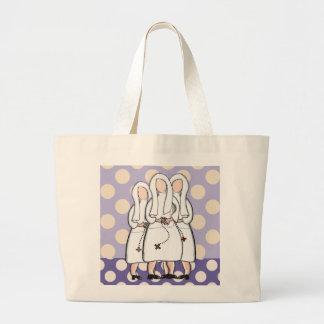 Catholic Nuns Jubilee Gifts Jumbo Tote Bag