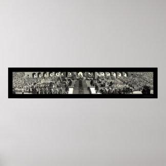 Catholic Pontifical Mass Photo 1931 Poster