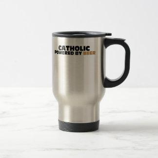 Catholic Powered By Beer Coffee Mug
