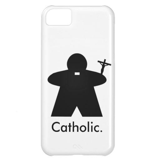 Catholic Priest Meeple iphone case Case For iPhone 5C