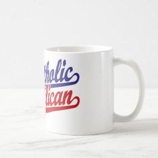 Catholic Republican Basic White Mug