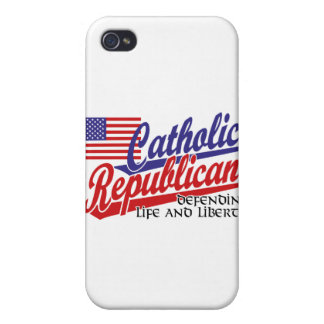 Catholic Republican iPhone 4/4S Case