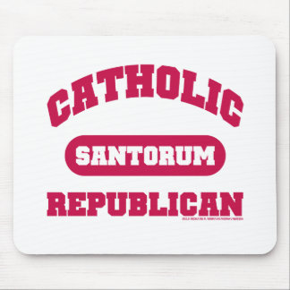 Catholic Republican Mouse Pad