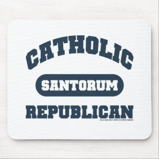 Catholic Republican Mouse Pad