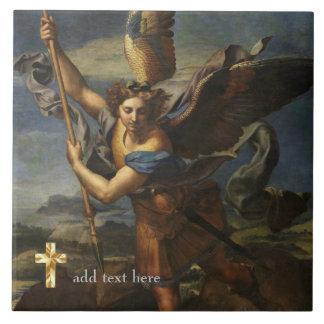 Catholic Saint Michael the Archangel Add Verse Tile