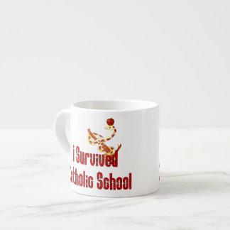 Catholic School Survivor Espresso Mug