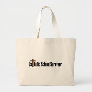 Catholic School Survivor Jumbo Tote Bag