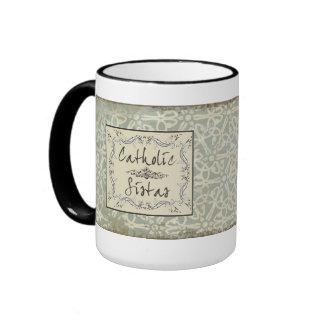 Catholic Sistas Ringer Mug