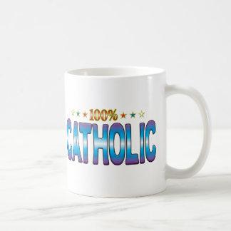 Catholic Star Tag v2 Basic White Mug