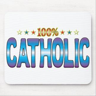 Catholic Star Tag v2 Mousemats