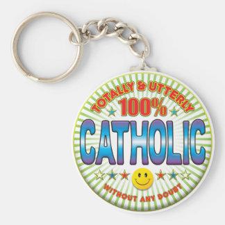 Catholic Totally Key Chain