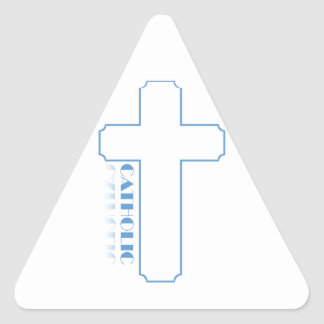 Catholic Triangle Sticker