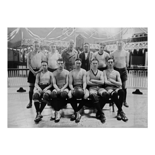 Catholic University Basketball Team: 1923 Poster