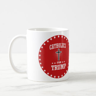 CATHOLICS FOR TRUMP COFFEE MUG