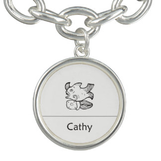 Cathy in Mayan Pendant