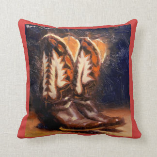 Cathy's Boots Accent Pillow