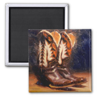 Cathy's Boots Refrigerator Magnet