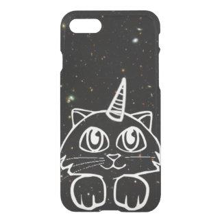 Caticorn Cat Unicorn In Space Galaxy Stars iPhone 7 Case