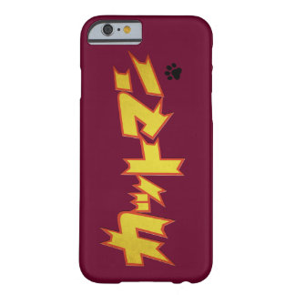 CATman Japanese Superhero Logo Barely There iPhone 6 Case