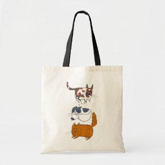Catnip Kitties Canvas Bags