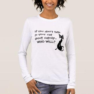 Catnip - Lecture Long Sleeve T-Shirt