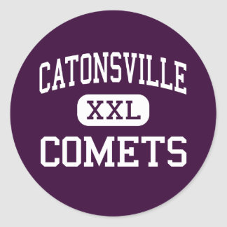 Catonsville - Comets - High - Catonsville Maryland Round Stickers