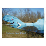 Catoosa Blue Whale Greeting Card