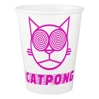 Catpong Paper Cup