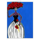 Catrina the Modern Bride Greeting Cards