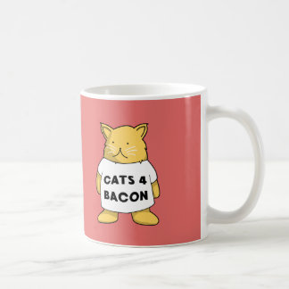 Cats 4 Bacon Coffee Mug
