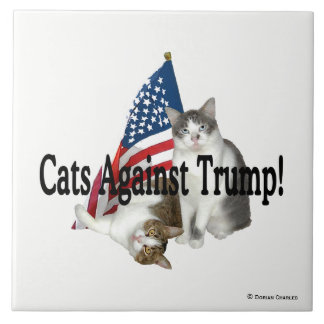 """Cats Against Trump"" Tile"