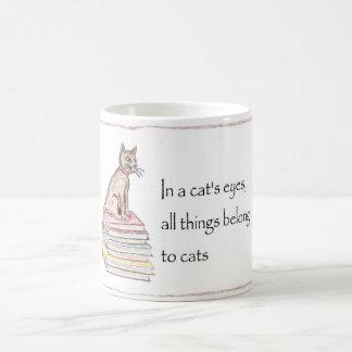 Cats - All things belong Mug