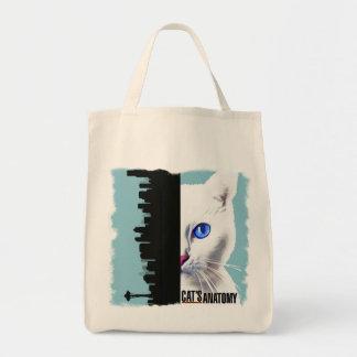 Cat's Anatomy Tote Bag