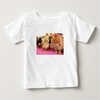 Cats and birds baby T-Shirt