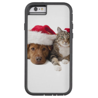 Cats and dogs - Christmas cat - christmas dog Tough Xtreme iPhone 6 Case