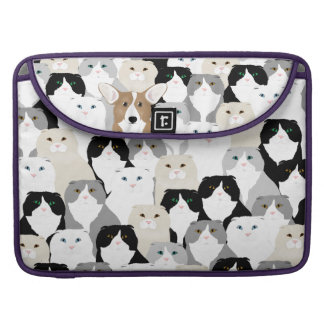 Cats and Dogs Macbook Pro Sleeve
