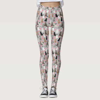 Cats and Donuts leggings