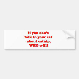 cats and pets bumper sticker