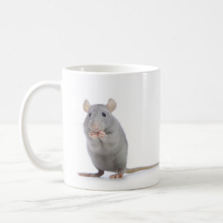 cats and rat coffee mug
