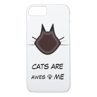 Cats are awesome iPhone 7 case