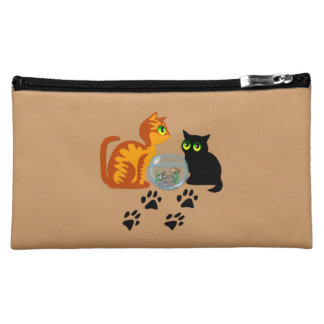 Cats At Play Cosmetic Bags