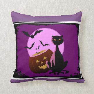 Cats & Bats & Pumpkins Decorative Pillow