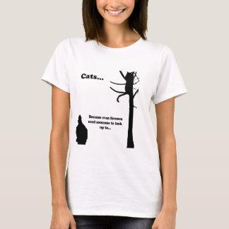 Cats...Because even Firemen T-Shirt
